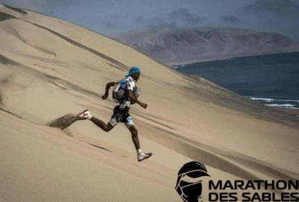 The 1st Marathon des Sables through the Ica desert of Peru; photo: Jean-Philippe Ksiazek (AFP)