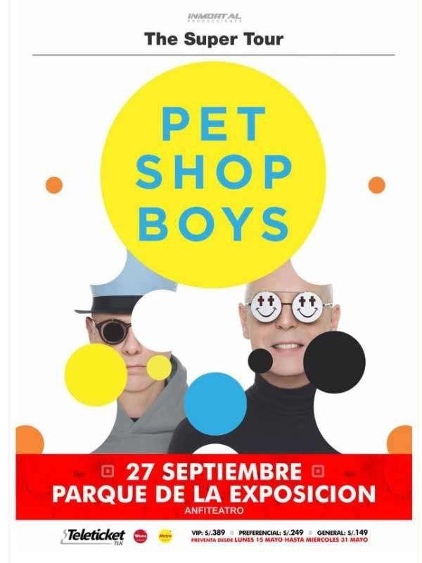 Pet Shop Boys in Lima