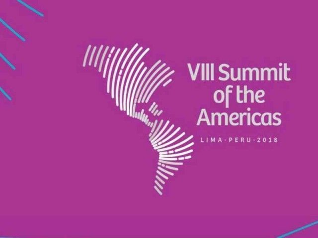 8th Summit of the Americas in Lima 2018