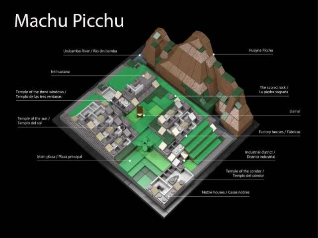 Machu Picchu could soon become South America's first Lego model