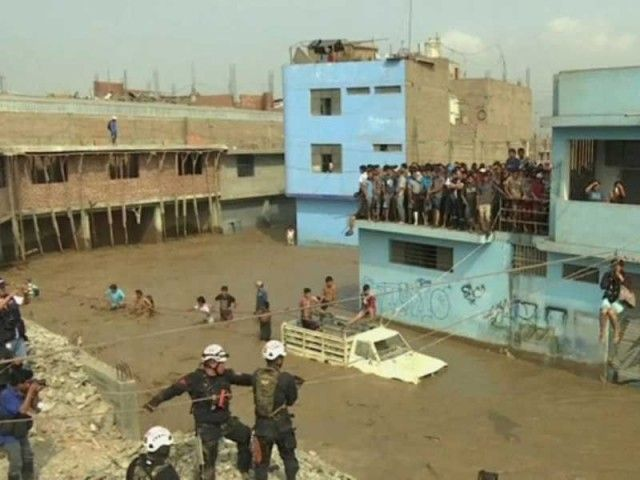 Peru hit by rain and floods of previously unknown extent