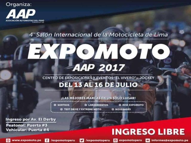 4th International Motorcycle Show - Expomoto AAP 2017