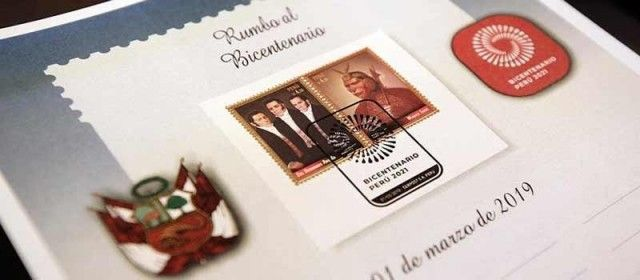 New series of postage stamps and postmarks for Bicentennial of Peruvian Independence