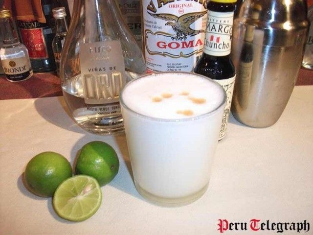 Today is Pisco Sour Day