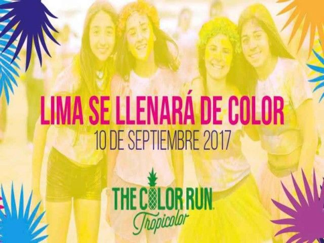 The Color Run in Lima