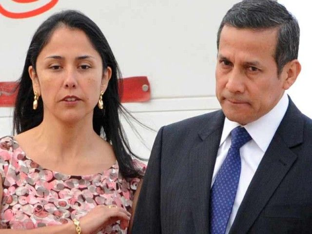 Ex-President Ollanta Humala and his wife jailed