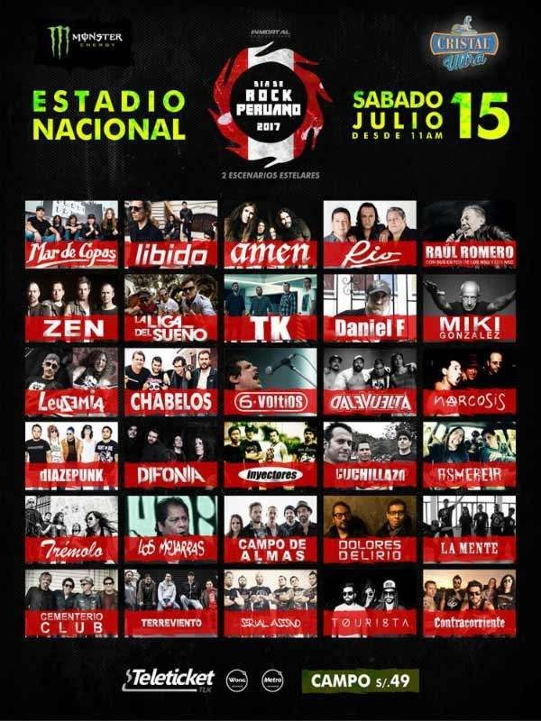 Dia de Rock Peruano – Peruvian Rock Day