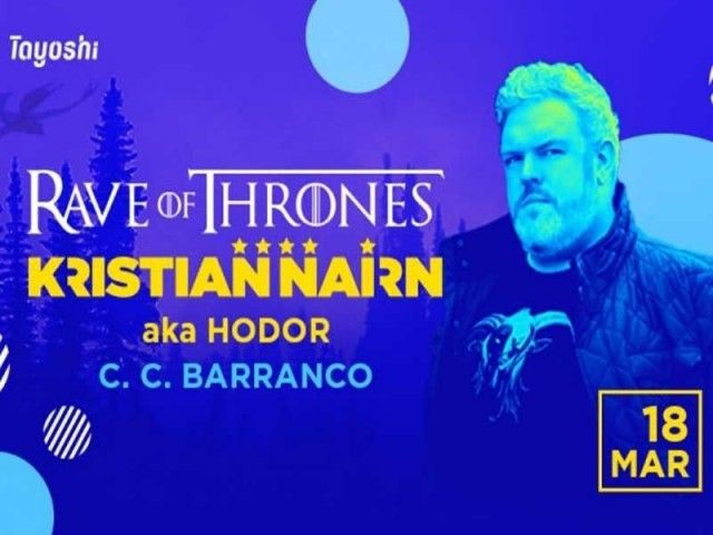 Game of Thrones star performs in Lima