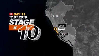 Stage 10 - Dakar Rally 2019 - Pisco to Lima (17.01.19)