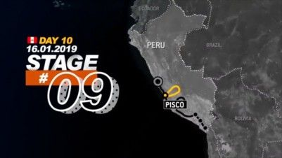 Stage 9 - Dakar Ralley 2019 - Pisco to Pisco (16.01.19)